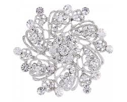 EVER FAITH <b>Women's</b> Austrian Crystal <b>Elegant Flower</b> Bridal ...
