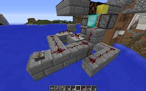 Minecraft Powering A Redstone Lamp On Top Of A Piston Arqade