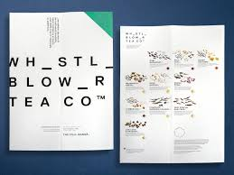 Whistle Blower Tea Co Package Design Design Inspiration And Teas