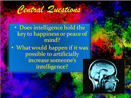 flowers for algernon by daniel keyes ppt video online  2 does intelligence