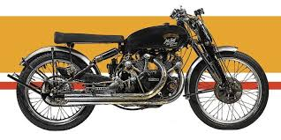 1951 vincent black lightning motorcycle is up for auction