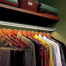 led closet rod ideas