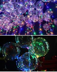 String Light Balloon Wholesale Bobo Balloon 18 Inches Led Balloon With String Light For Christmas New Year Wedding Party Decoration Buy Wholesale Led Balloons Wholesale