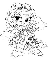 Small Picture Monster High Operetta Coloring Page Getcoloringpages Com Coloring