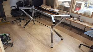 Steel table legs Flat Picture Of Steel Table Legs Complex Angles Instructables Steel Table Legs Complex Angles Steps