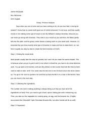 research paper outline i topicintroduction thesisstatement 3 pages essay process analysis