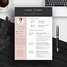 Downloadable Free Unique Resume Templates Word Creative With Cool