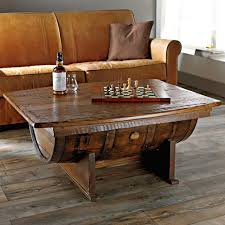 coffee table handmade vintage oak whiskey barrel coffeee the green head wooden awful image concept