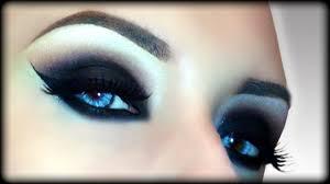 y vire black widow zombie witch black smokey eyes makeup tutorial you