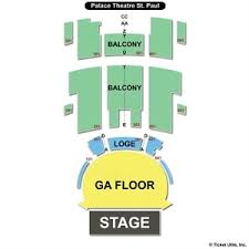 Logical Seating Chart For Palace Theater United Palace