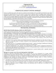 Laboratory Manager Resume Sidemcicek Com
