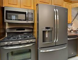 slate appliances vs stainless. Simple Appliances GE Slate Appliances  Design Build Planners 1 Inside Appliances Vs Stainless
