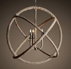 nautical rope chandelier restoration hardware rope chandelier diy nautical rope chandelier