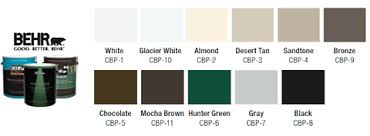 catalog there are over 1 800 sherwin williams clopay colors so we re sure to be able to find the perfect custom match color for your garage door