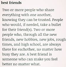 best friend definition dictionary