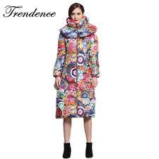 trends jacket for women trendence winter women long hooded winter coat colorful casaco feminino parkas ac5959032