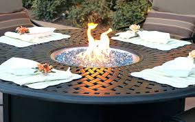 gas fire pit table set round gas fire pit table table set round enjoyment outdoor table