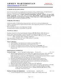 Database Engineer Sample Resume 17 Software Engineer Resume