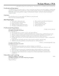 Cna Objective Resume Fascinating Cna Resume Examples With No Experience Tsunamialert
