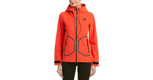 New Balance Synthetic Luxe 3-<b>layer</b> Jacket in Red - Lyst