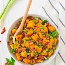 sweet potato salad with bacon easy