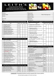 Excel Delivery Copy Of Stand Delivery Order Form Excel Excel London