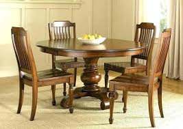 solid wood dining table sets solid wood round table interior home design outstanding solid wood pedestal