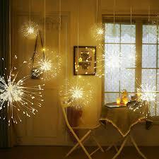 Pháo Hoa LED Dây Treo Đèn 200 Đèn LED Đồng Cổ Tích Gypsophila Vòng Hoa  Giáng Sinh Đèn Ngoài Trời Twinkle Đèn Trang Trí Sân Vườn|Đèn LED Tường  Ngoài Trời