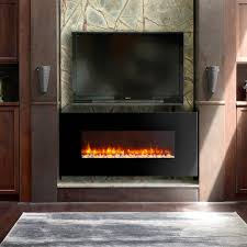 led electric fireplace