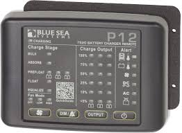 p battery charger led remote blue sea systems product image