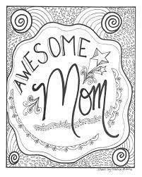 Awesome Moeder Kleurplaat Etsy Inside Kleurplaat Verjaardag Moeder