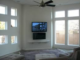 smlf tv mounting over fireplace ideas above hiding cables ct mounted brick plaster walls