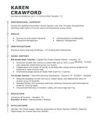 It Teacher Resume Best Teacher Resume Example Livecareer