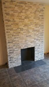 nepal frost fireplace wall
