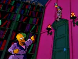 The Simpsons Simpsons Season 6 Mr Burns Monty Burns Burns Reaction Simpson Treehouse Of Horror V