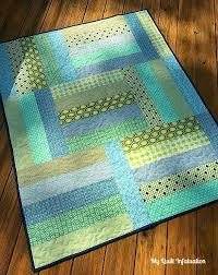 Afternoon Tango Baby Quilt Tutorial | Fat quarter quilt, Baby ... & Take a break from long and detailed quilt projects and spend an afternoon  on a quick Adamdwight.com