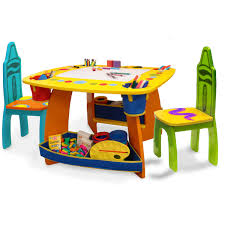 crayola table and easel sets
