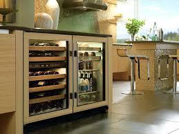 glass door residential refrigerator clear