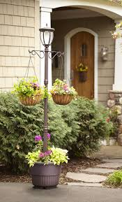 Mcleland Design 7 Kenwick Solar Powered Lamp Post With Planter