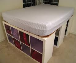 unfinished bedroom furniture malm bed dimensions. DIY Queen Bed Frame With Storage Unfinished Bedroom Furniture Malm Dimensions