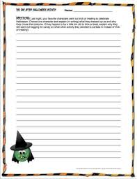 best the day after halloween images teaching  the day after halloween creative writing activity teacherspayteachers com