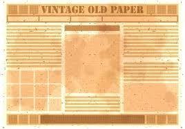 Old Fashion Newspaper Template Antique Newspaper Template Worldtreasury Info