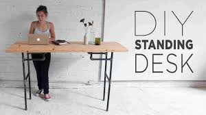 standing desk plans. Beautiful Desk Or Diy Standing Desk Plans Stand Up Ideas Guide Patternsrhguidepatternscom  Christmas Giveaway Rhkitcom To Standing Desk Plans P