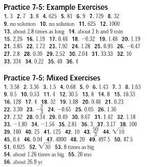 7 5 ee me log and exp equations answer key