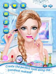ice princess magic wedding salon with s spa makeup fantasy makeover game screenshot