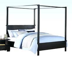 Black Canopy Bed Queen Black Canopy Bed Queen Bedroom Inspirational ...