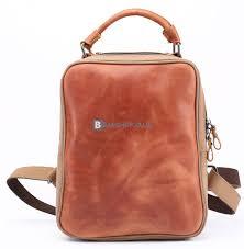 leather laptop backpack womens designer rucksacks 1