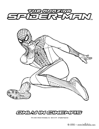 Small Picture The amazing spider man for kids coloring pages Hellokidscom