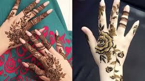 Dubai Style Mehndi Design Top Rose Mehndi Designs To Be The Cynosure Of All Eyes