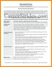 Sample Resume For School Counselor School Counselor Resume Objective Acepeople Co